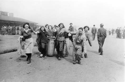 holocaust memoirs of a bergen belsen survivor classmate of frank books bergen belsen germany april 1945 survivors carrying a
