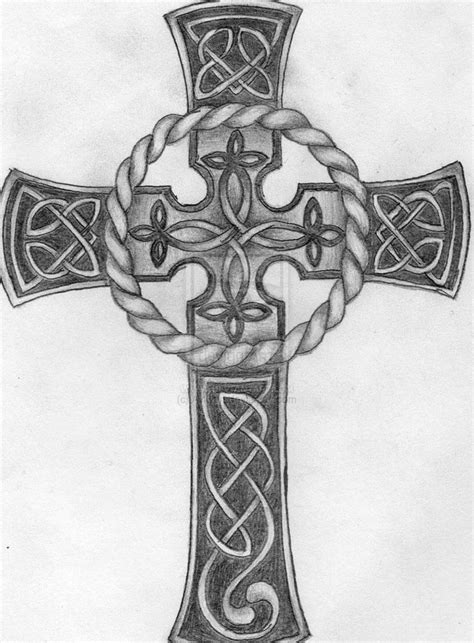 celtic cross tattoos images celtic tattoos celtic cross by aylwen on