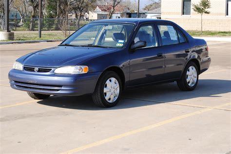 1999 Toyota Corolla 1999 Toyota Corolla Pictures Cargurus