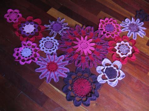 fiori a crochet scialle a uncinetto foto tempo libero