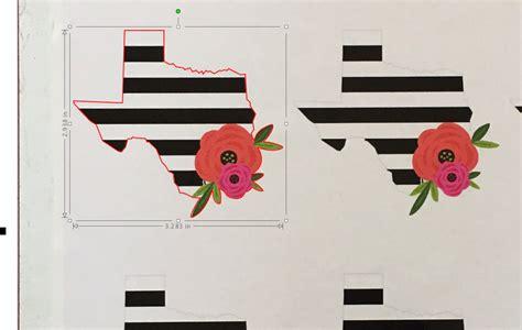 printable vinyl designs custom printed vinyl decals silhouette pixscan tutorial