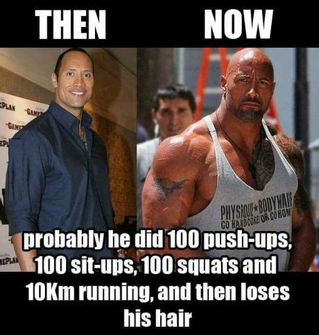 dwayne the rock johnson then and now the rock then and now anime pinterest changeman