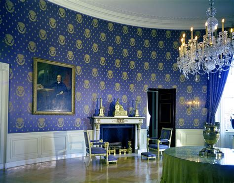 the blue room restoring the past in the white house a look at the jacqueline kennedy white house restoration
