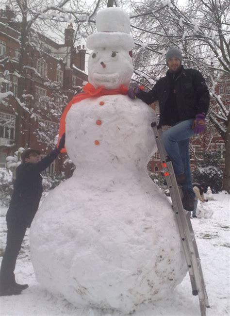 big snowman pictures