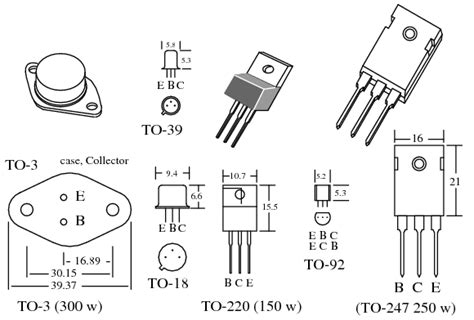transistor irf3205 equivalent transistor ratings and packages bjt bipolar junction transistors electronics textbook