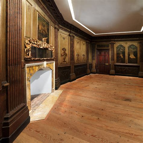 Wainscoting History by Paneling From Marmion The Fitzhugh House Work Of
