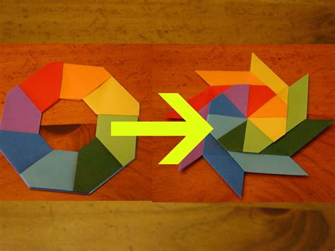 origami gun that shoots images