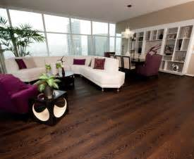 wide plank wood floors in living rooms contemporary