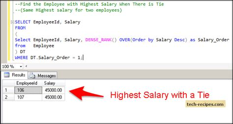 How To Search On Second How To Find Nth Highest Second Highest Salary In Sql Server