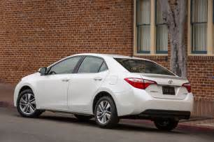 2014 Toyota Carolla 2014 Toyota Corolla Reviews And Rating Motor Trend