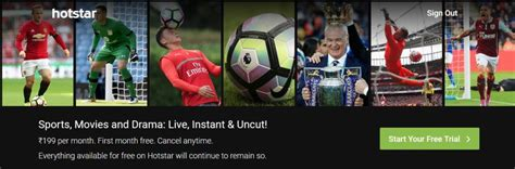 epl hotstar can i watch premier league on star sports hotstar in india