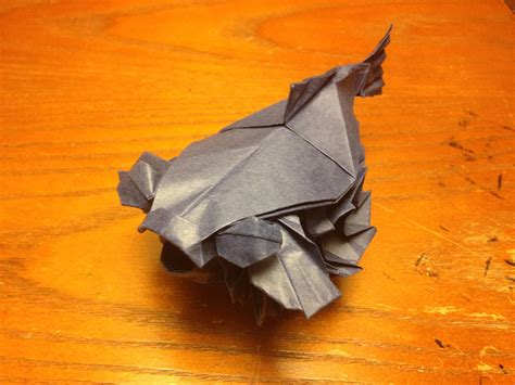 Origami Puffer Fish - dolphinitely some of the best origami sea creatures i ve seen