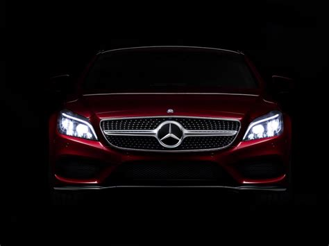 mercedes headlights mercedes to debut multibeam led headlight technology on