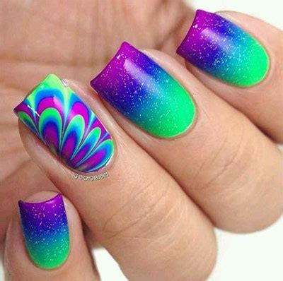 water pattern nails 15 without water marble nails art designs ideas 2017
