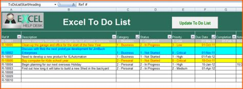 management dashboard excel schedule template to do list free
