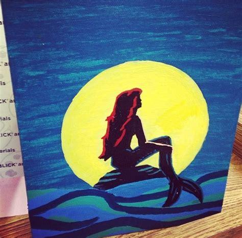 ariel painting i disney the mermaid ariel painting