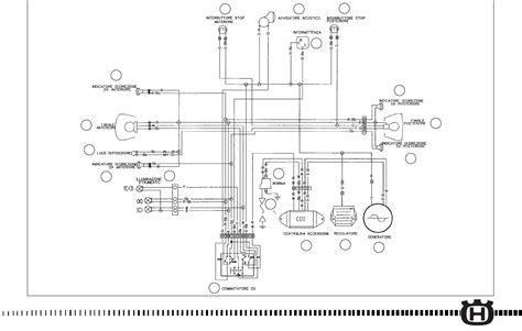 husqvarna wiring schematic wiring diagram with description