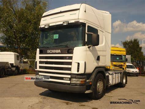 scania 4 series 124 l 420 2002 standard tractor trailer