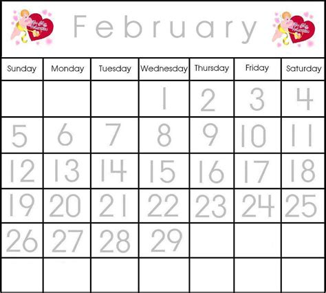 printable february 2015 tracing calendar search results