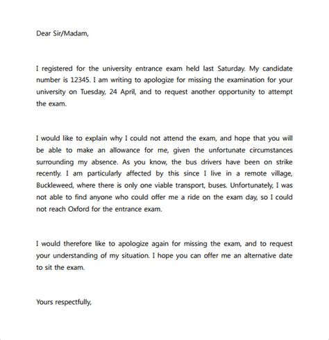 Apology Letter To For Absence Apology Letter To School 8 Free Documents In Pdf Word