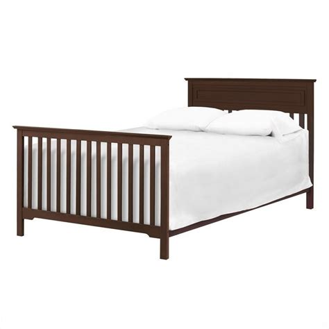 Convertible Crib Mattress Davinci Autumn 4 In 1 Convertible Crib In Espresso With Crib Mattress M4301q M5315c Kit