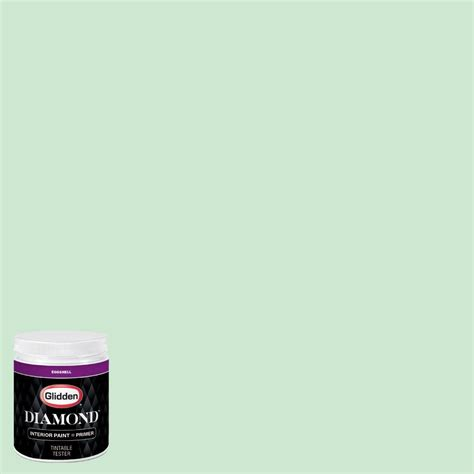 Mint Green Interior Paint by Glidden 8 Oz Hdgg55d New Mint Green Eggshell