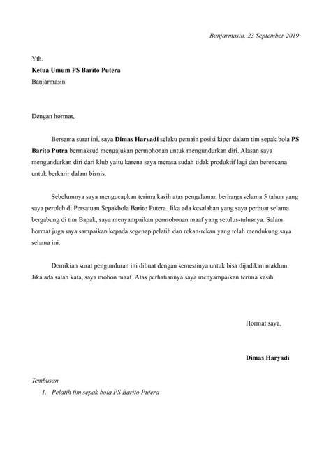 Contoh Surat Kontrak Kerja Pemain Sepakbola Ahlipengertian