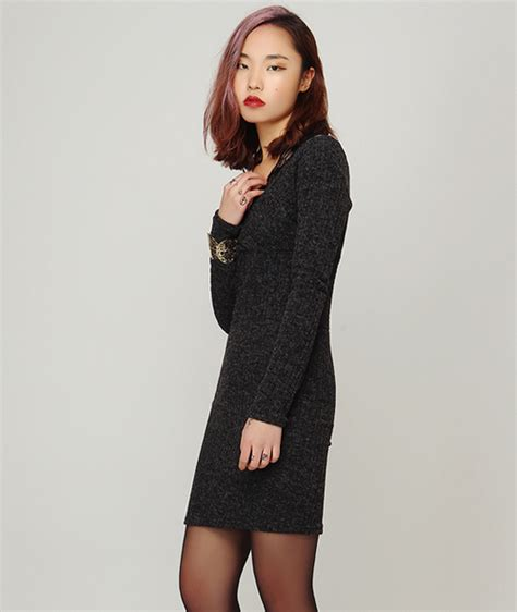 Bodycon Knit Dress Qiy storets lace straps bodycon knit dress kstylick korean fashion k pop styles