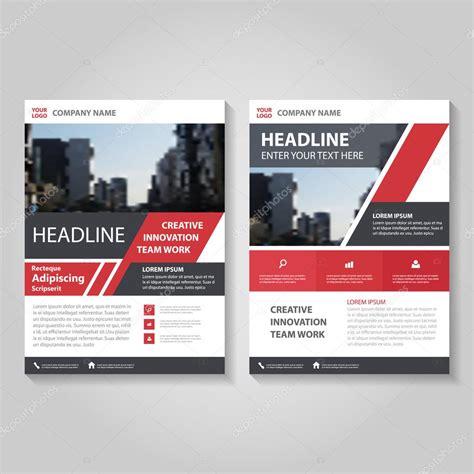 leaflet design books red black creative brochure leaflet flyer template design
