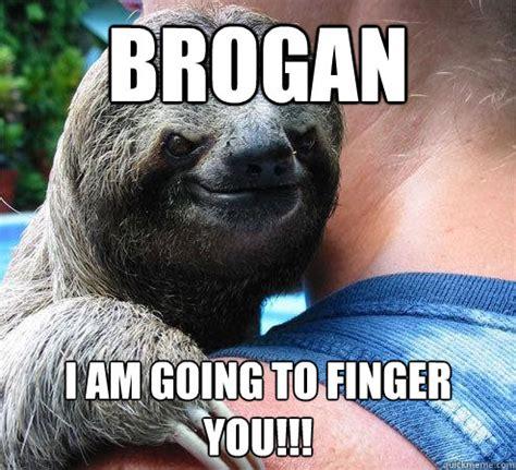 Krogan Meme - brogan i am going to finger you suspiciously evil