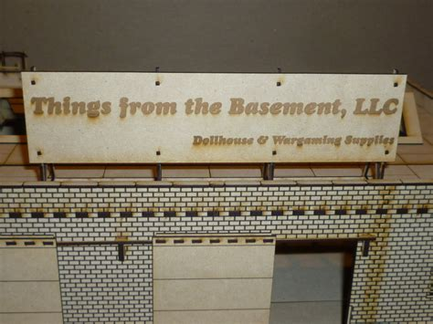 the basement warehouse personalized warehouse sign