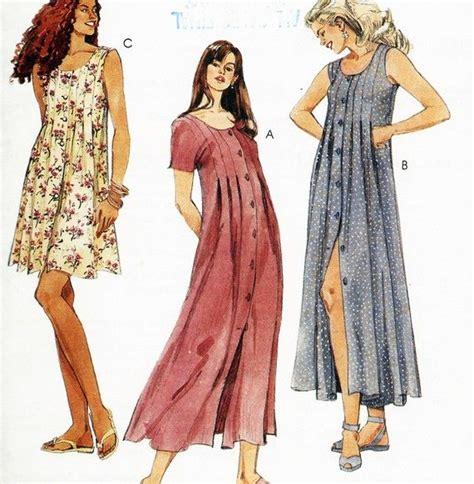 pattern dress babydoll 1990s grunge style babydoll dress pattern by