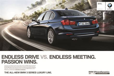 bmw ads 2016 2012 bmw 3 series f30 marketing caign passion wins