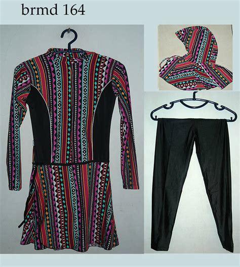 jual baju renang muslimah m l xl chiecollection