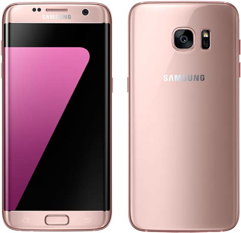 p samsung android samsung galaxy s7 edge 32gb sm g935p android smartphone sprint pink gold mint condition