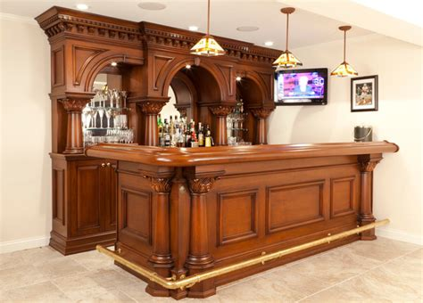 residential bar ny traditional home bar new york