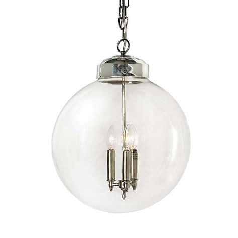 Globe Pendant Lighting Andrew Design 405 675 Transitional Large Globe Pendant Light Rad 405 675