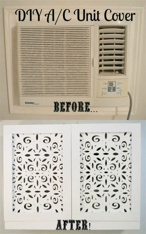 air conditioner covers window units diy air conditioner air conditioners and before after on