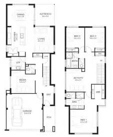 Residential Floor Plans 3 bedroom house designs perth double storey apg homes