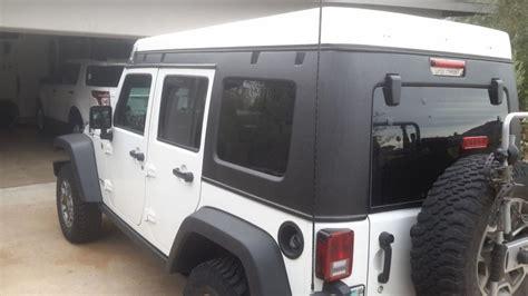 Jeep Wrangler Pop Top 2014 Jeep Wrangler With Ursa Minor Pop Top Cer Na Prodej