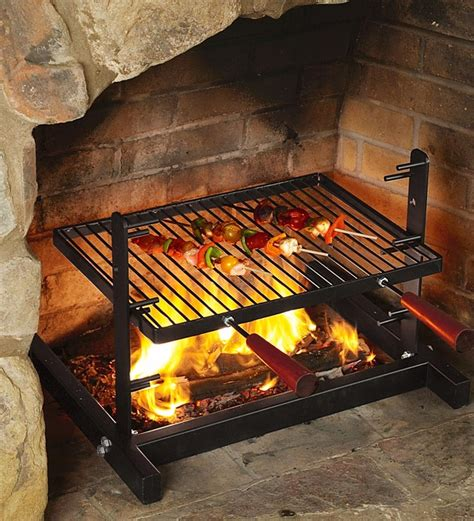 Cooking In The Fireplace by Grill Kitchen Wants
