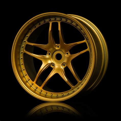 Wheels Gold 4 Pcs mst fb wheel 4pcs color gold drifted
