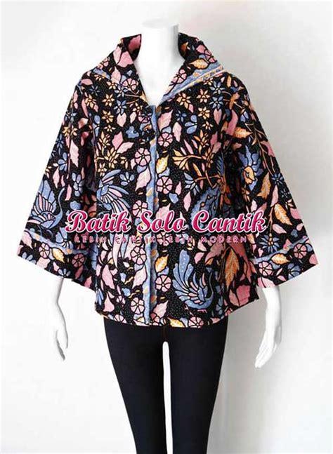 Baju Fashion Import Wanita Cewek Atasan Blouse Batik 3 model baju kerja wanita terbaru 2015