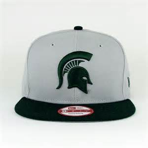 michigan state colors michigan state spartans team colors gray 59fifty