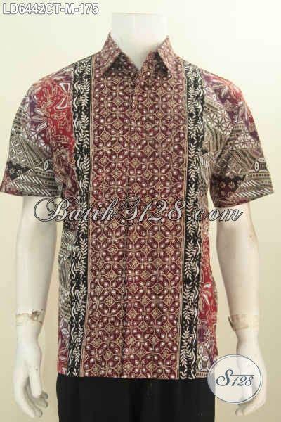 Kemeja Batik Palembang jual kemeja batik hem batik modis motif bagus bahan adem proses cap tulis untuk