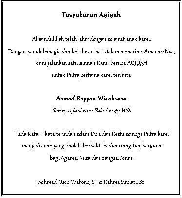 kartu ucapan tasyakuran aqiqah rurywidyaanalita88 s