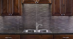 thermoplastic panels kitchen backsplash waves brushed nickel flickr photo sharing