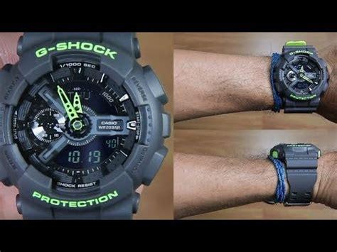 Casio G Shock Ga 110ln 8a Original casio g shock dual tone ga 110ln 8a unboxing
