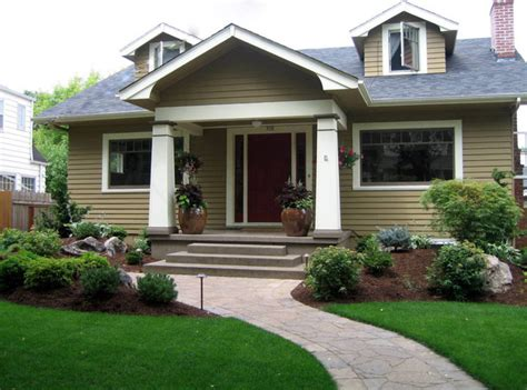 House Plans With Large Porches by Craftsman Curb Appeal Craftsman Landscape Portland