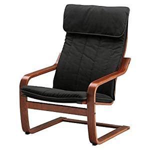 amazon armchairs amazon com ikea poang chair armchair with cushion cover